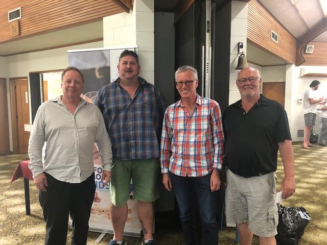 Waikato Bays team winners