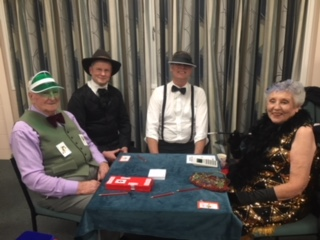 Gamblers: George, Malcolm, Peter and Laurie